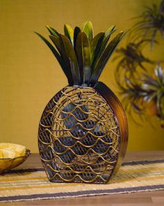Funky Pineapple Shaped Fan. Free Ground Shipping (continental US only). Wow we have a funky find with our newest item – Unique Shaped Fans. Spring is here and our unique shaped electric fans will certainly come in handy for the warm days to come. This Funky Pineapple Shaped Fan will cool you off for days to come. $80.00. Pineapple Kitchen, Pineapple Fruit, Pineapple Express, Fan Decoration, Garden Deco, Metallica, Breeze, Grandin Road, Southern Hospitality