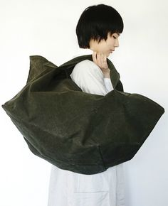 Lumie're ルミエール bag Big Bags, Mori Girl, Bean Bag Chair, Palm, Sewing, Ecuador, Artisan, Middle, Women's Fashion