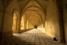 Abbey in the Loire by thetravelingpear, via Flickr