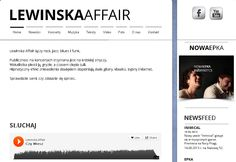 Listen us on www.lewinskaaffair.pl