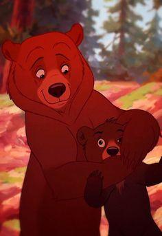 Brother Bear Disney Pixar, Old Disney, Disney Animation, Disney And Dreamworks, Disney Cartoons, Disney Art, Disney And More, Disney Love, Disney Magic