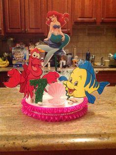 Little Mermaid centerpiece idea