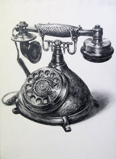 a telephone by indiart3612.deviantart.com on @deviantART