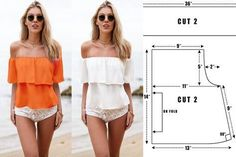 Amazing Sewing Patterns Clone Your Clothes Ideas. Enchanting Sewing Patterns Clone Your Clothes Ideas. Sewing Clothes, Diy Clothes, Diy Dress, Dress Outfits, Moda Zara, Traje Casual, Make Your Own Clothes, Off Shoulder Tops, Apparel Design