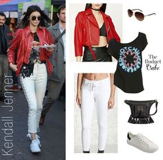 Celebrity Looks :      Picture    Description  Kendall Jenner's Red Leather Jacket and White Lace-Up Leather Pants Look for Less    - #Celebrity https://looks.tn/celebrity/celebrity-looks-kendall-jenners-red-leather-jacket-and-white-lace-up-leather-pants-look-for/