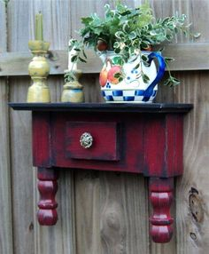 use an old end table