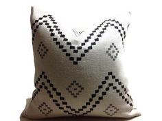 Peter Dunham decorative pillow cover in Onyx/ Ash  Colors include Black, Gray,  Front Peter Dunham 100% Linen Fabric Back Cream linen Fabric  Dry Clean  The pattern placement will vary  All pillows are sewn professionally,  overlocked with finished edges  to prevent fraying and have  zipper enclosures.  this provides long lasting, durable covers  that will stay straight and beautiful over time  which makes a clean professional look.