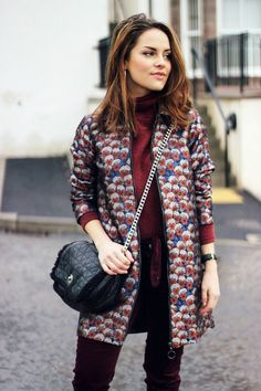 Ron Burgundy (The Little Magpie) Ron Burgundy, Burgundy Fashion, Fashion Beauty, Womens Fashion, Fashion Trends, Style Fashion, Fashion Inspiration, Mode Top, Old Dresses