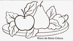 Art'sanália: Riscos de frutas