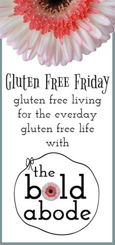 Gluten Free Friday: Gluten Living for the Everyday Gluten Free Life - Click image to find more food & drink Pinterest pins