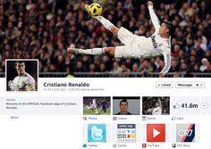 Ronaldo on Facebook