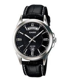 fff02fe1665 WW0053 Original Casio Enticer Day Date Belt Watch MTP-1381L-1AV Warranty  12