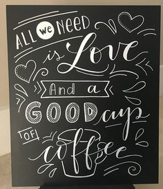 Hand painted permanent art in a chalkboard style Light plywood Matte Finish Size 18x15 in.