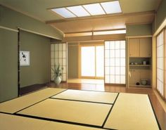 Somehow have to incorporate tatami theme into house...