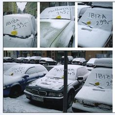 """""""The medium is the message"""" - great guerrilla marketing idea by serviceplan in 2007"""