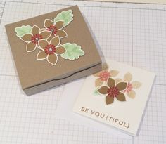 A sneak peek at my January Stampin Up project, you can sign up for my newsletter through my SU shop www.aandhcrafts.stampinup.net