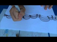 How to draw an optical illusian, or op art