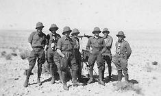 Afrika korps soldiers in desert.