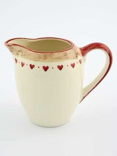 Heart Creamer - traditional - Serving Utensils - Other Metro - Dibor