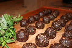 Raw Mint Chocolate drops