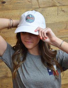 Texas girl love their hats!! Show that everything is better in Texas with our awesome new hat!