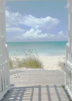 Sunset Beach, Beach Art, Ocean Beach, Beach Wallpaper, Beach Aesthetic, Window View, Beach Scenes, Beach Cottages, Beach Photography
