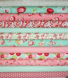 Scrumptious quilt fabric by Bonnie and Camille for Moda Fabrics- Fat Quarter Bundle- 12 total on Etsy, $36.00