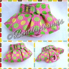 Big+Spring+Dots++small+female+dog+diaper+in+by+Bentleysbands,+$8.00