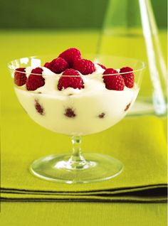 Raspberry Yogurt Parfait
