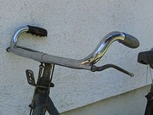 Bicycle handlebar - Wikipedia, the free encyclopedia