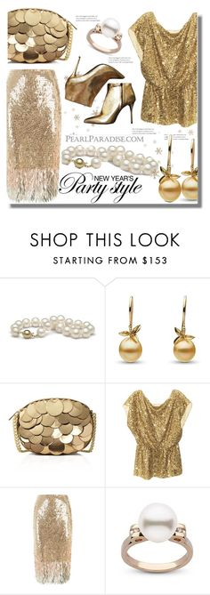 """""""www.pearlparadise.com"""" by edita-n ❤ liked on Polyvore featuring MICHAEL Michael Kors, Alice + Olivia, Temperley London, Alexander McQueen, pearljewelry and pearlparadise"""