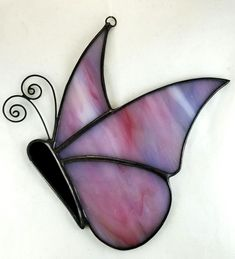 Spring Butterfly made by Kickass Stained Glass