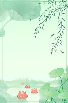 summer solstice lotus leaf fresh lotus pond More than 3 million PNG and graphics resource at Pngtree. Live Wallpaper Iphone, Tumblr Wallpaper, Of Wallpaper, Wallpaper Backgrounds, Cartoon Background, Art Background, Flower Backgrounds, Flower Wallpaper, Cartoon Leaf