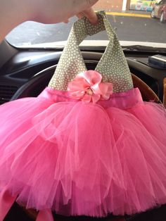 Doggie tutu dress!