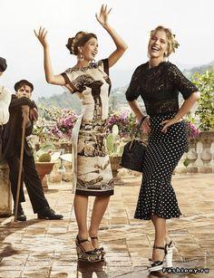 (+1) - Dolce & Gabbana Весна-Лето 2014 Рекламная кампания | Мода