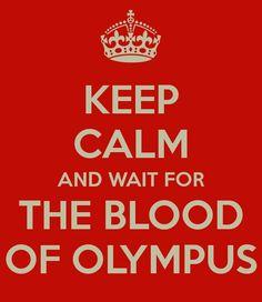 O Sangue do Olimpo Livro 5 de Os Herois do Olimpo lançamento em outubro de 2014. Só não se sabe ainda se vai ser lançamento mundial ou somente nos EUA.