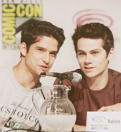Dylan O´Brien and Tyler Posey