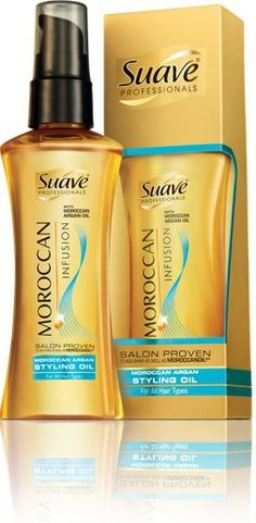 Save $1.00 on Any Suave Moroccan Infusion Styling Oil.