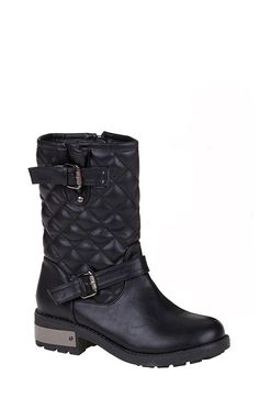 Quilted Biker Boots  http://jessyss.com/shoes/ankle-boots/quilted-biker-boots.html?barva=