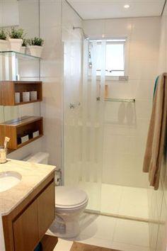 Banheiros lindos e diferentes e a difícil escolha dos azulejos.