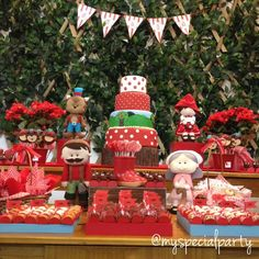 Little Red Riding Hood Birthday Party Ideas | Photo 2 of 9 | Catch My Party