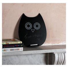 Owl Chalkboard
