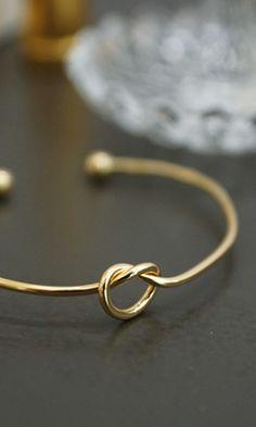 Let's Tie The Knot Bracelet - Conversation Pieces