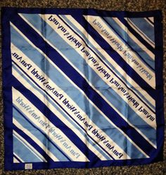 Pan Am Vintage Handkerchief (1960s)