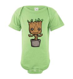c84590673 Just like our popular cute baby Groot tees for adults and toddlers, now we  have