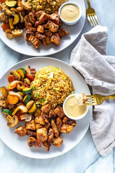 Perfect Hibachi Chicken {Benihana Copycat} - The Girl on Bloor Hibatchi Recipes, Asian Recipes, Chicken Recipes, Cooking Recipes, Healthy Recipes, Ethnic Recipes, Dinner Recipes, Sushi Recipes, Kitchens