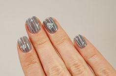 OPI I don't give a Rotterdam simple nail art