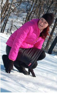 Modest skirt for the snow!!