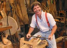 """Author and expert woodworker Roy Underhill maintains that woodworking is a part of all of us. """"That's what our ancestors have been doing for thousands of years, so we're all descendants of people who worked with wood by hand,"""" he says. Learn more about his philosophy of working wood with hand tools — and how these old tools are like both violins and lightsabers."""