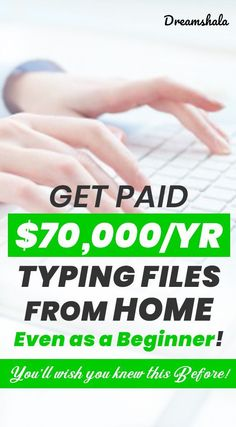 Are you searching for an online job? Do you have good listening and typing skills? Then check these 35 companies that offering online transcription jobs. Work Online Jobs, Online Typing Jobs, Get Paid Online, Best Online Jobs, Transcription Jobs From Home, Transcription Jobs For Beginners, Earn Money From Home, Earn Money Online, How To Make Money